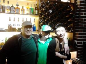 T3 - Bo (USA), Stacey (Ireland), Ming Long (China)